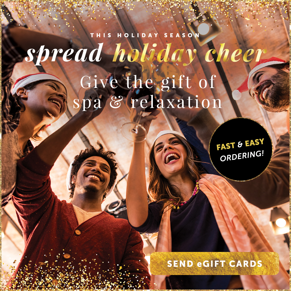 Spread Holiday Cheer. Shop Gift Cards