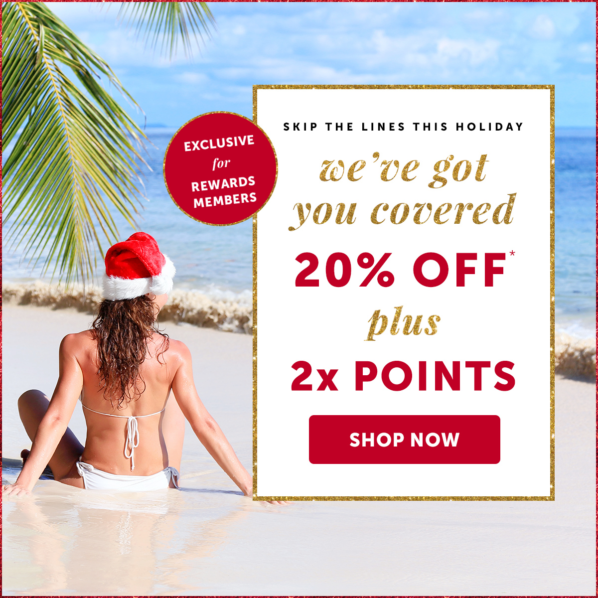 Exclusive Offer: Take 20% OFF + 2X Points