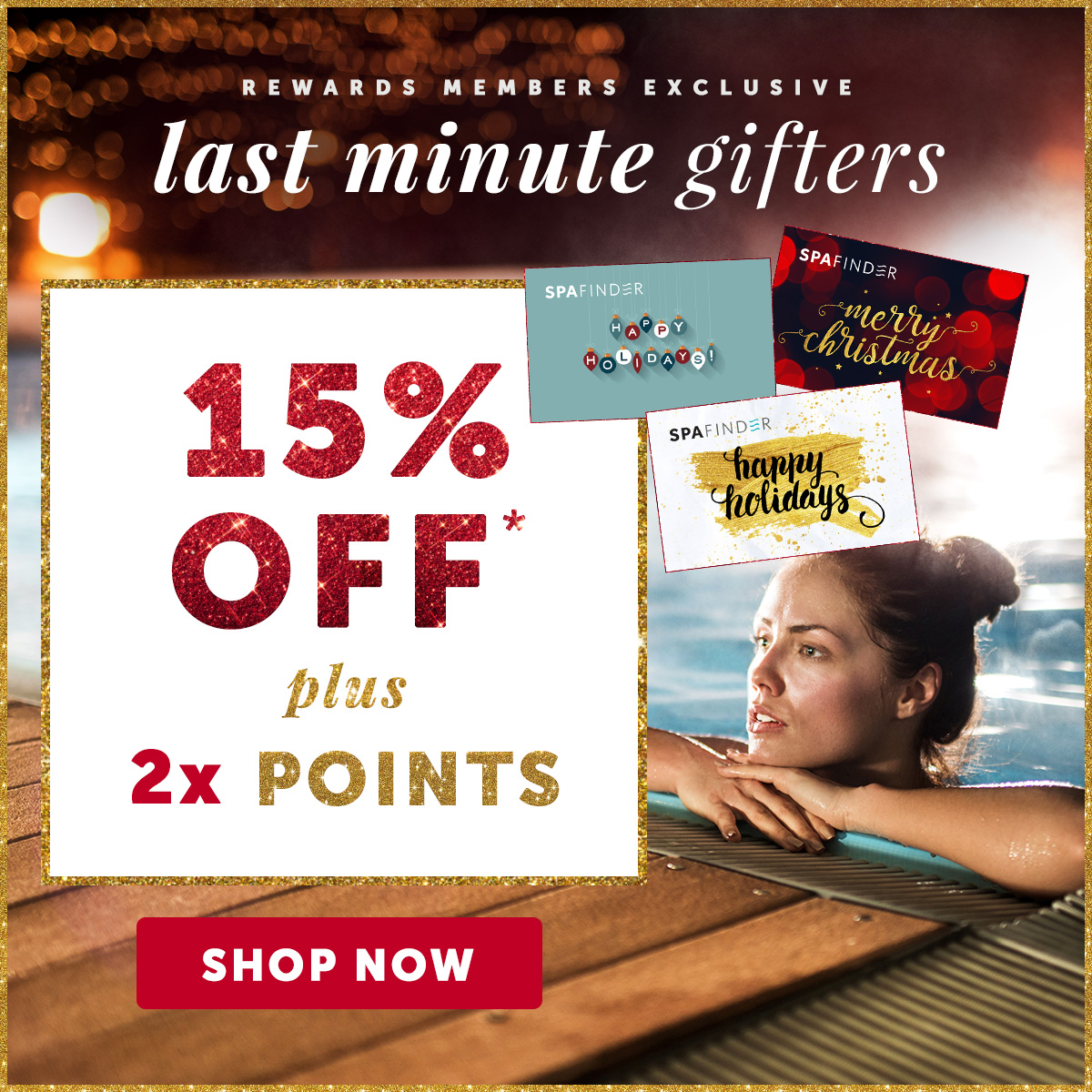 Exclusive Offer: Take 15% OFF + 2X Points